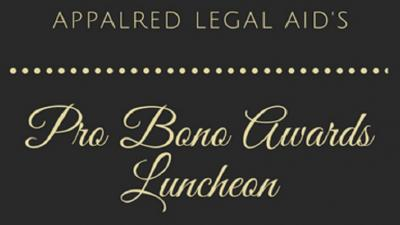 Pro Bono Awards Luncheon Registration