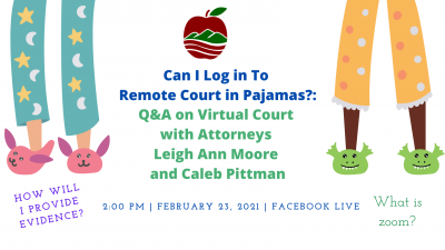 Facebook Live: Q & A on Virtual Court