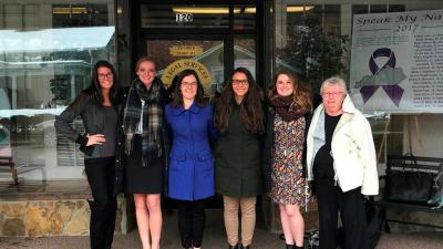 Notre Dame law students visit AppalReD