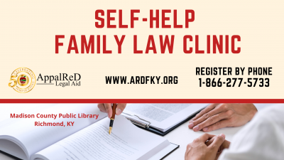 In-Person Pro-Se (Self-Help) Family Law Clinic