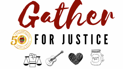 Join Us For Gather For Justice