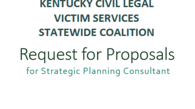 Request for Proposals for Strategic Planning Consultant